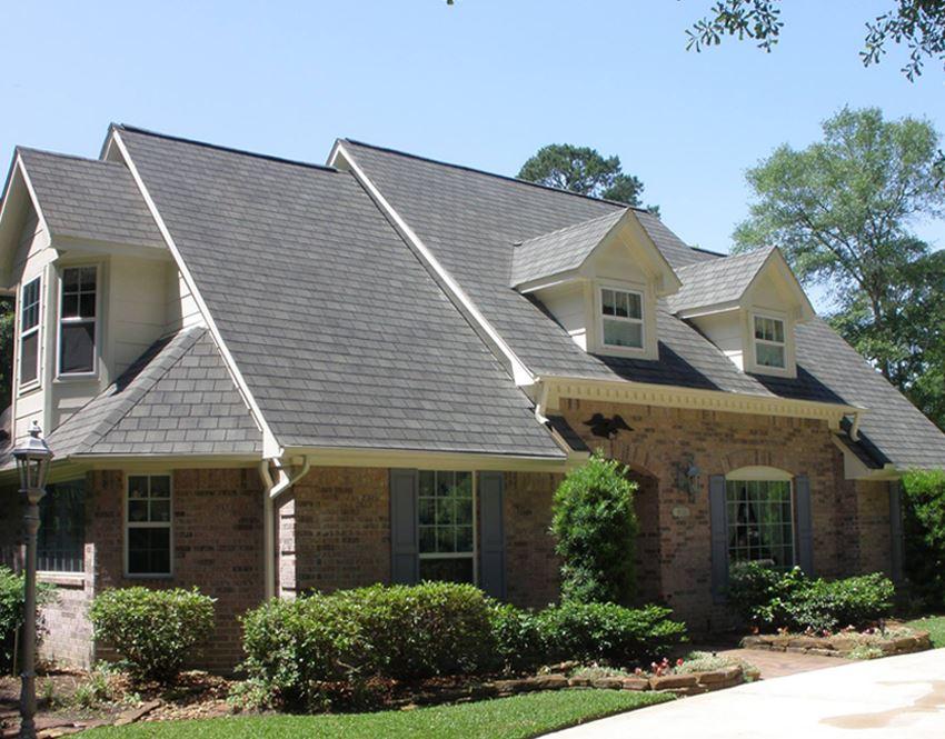 Asphalt Shingle Roof With Dormers